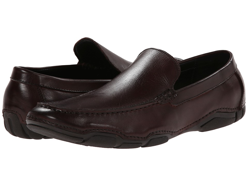Kenneth Cole Reaction - De-Tour (Brown) Men's Slip-on Dress Shoes