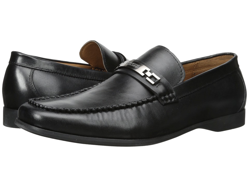 Kenneth Cole Reaction - Code Word (Black) Men's Slip on Shoes