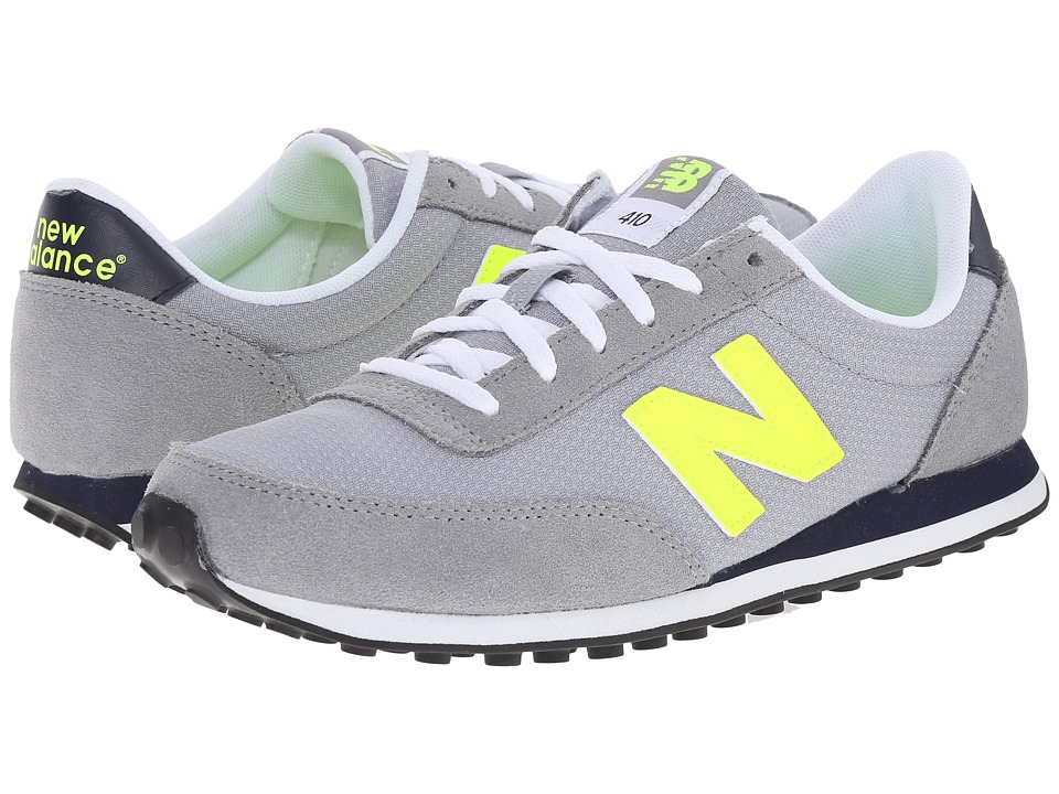 New Balance Classics - 410 - Winterbrights (Grey/Yellow) Women's Shoes