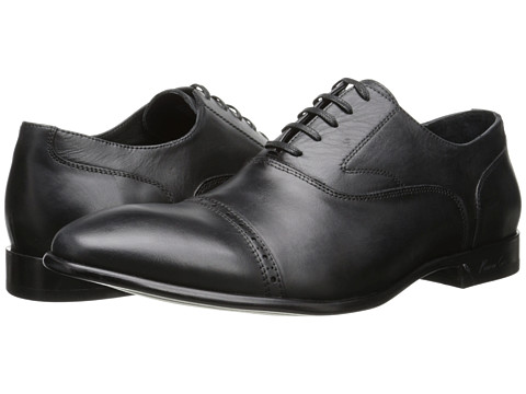 Kenneth Cole New York - Get The Memo (Black) Men's Lace Up Cap Toe Shoes