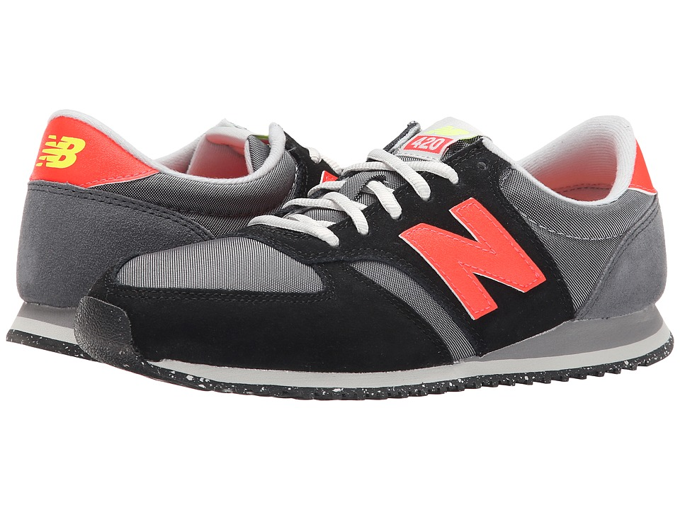 New Balance Classics - 420 - Composite (Grey/Black) Women's Shoes