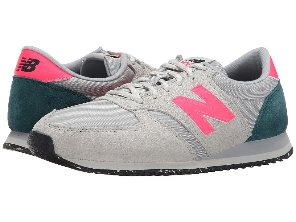 New Balance Classics - 420 - Composite (Grey/Pink) Women's Shoes