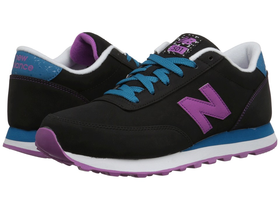 New Balance Classics - 501 - Composite (Black/Violet) Women's Shoes