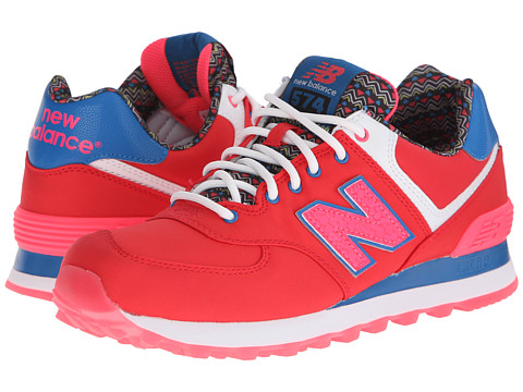 New Balance Classics - 574 - Street Beat (Pink/Blue) Women's Shoes