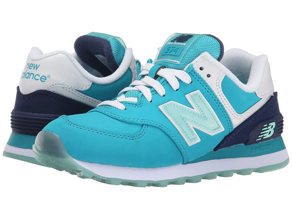 New Balance Classics - 574 - Glacial (Teal) Women's Shoes