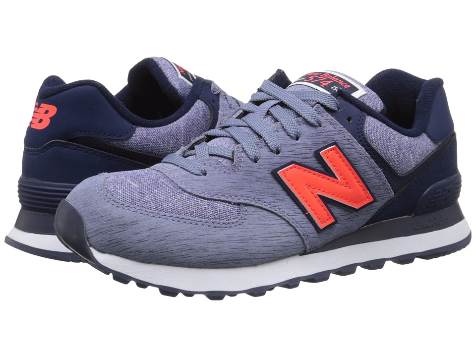 New Balance Classics - 574 - Sweatshirt (Dark Purple) Women's Shoes