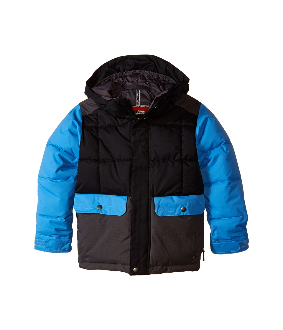 Burton Kids - Link System Jacket (Little Kids/Big Kids) (True Black Block) Boy's Coat