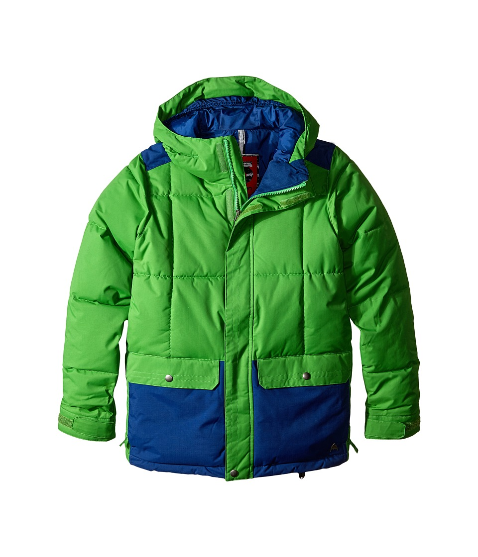Burton Kids - Link System Jacket (Little Kids/Big Kids) (Slime/Boro) Boy's Coat