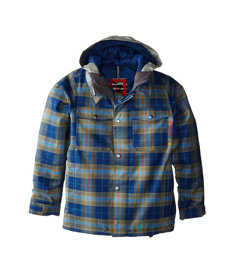 Burton Kids - Boys Uproar Jacket (Little Kids/Big Kids) (Boro Miked Plaid) Boy