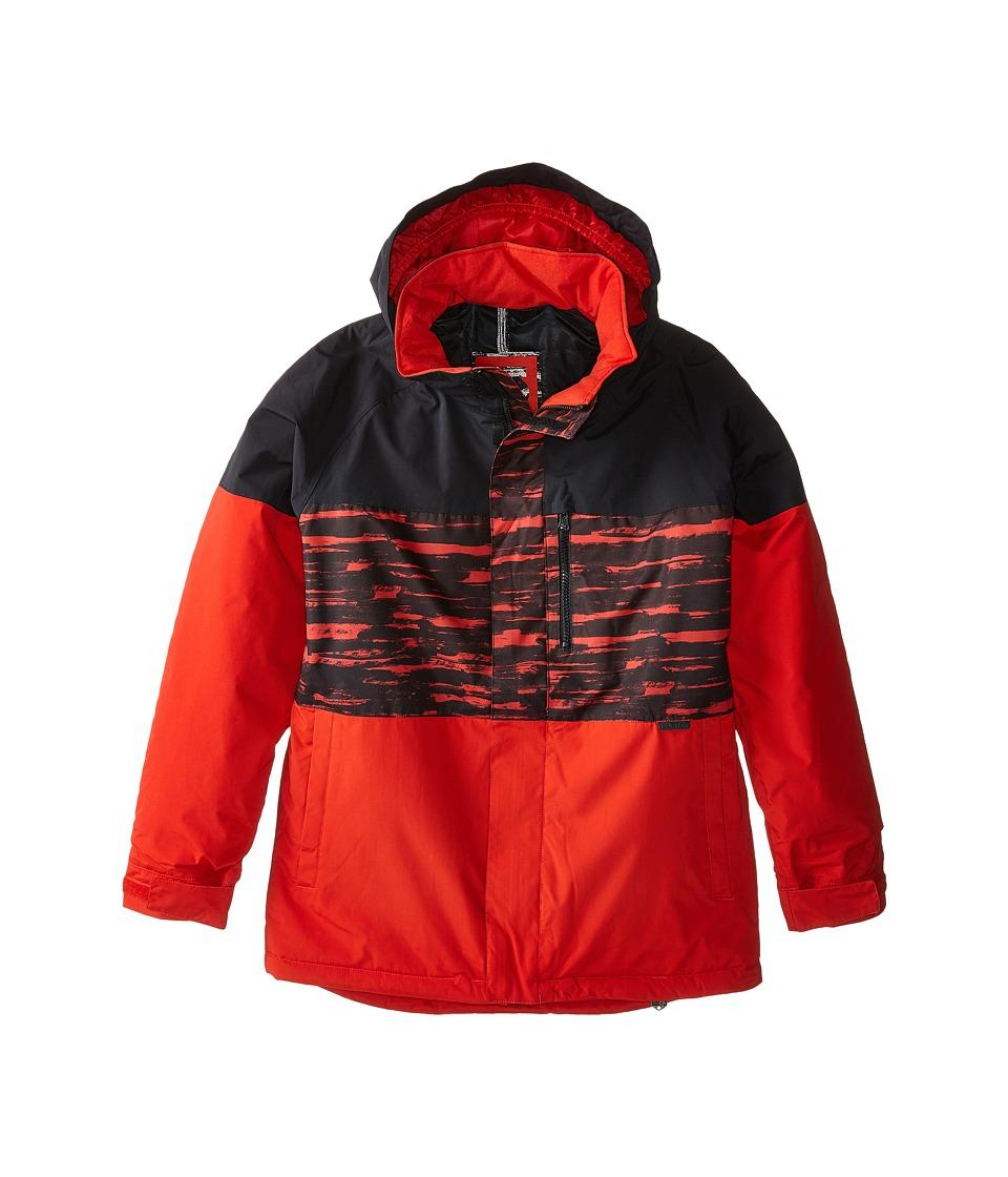 Burton Kids - Symbol Jacket (Little Kids/Big Kids) (Burner Sloppy Stripe Block) Boy's Coat