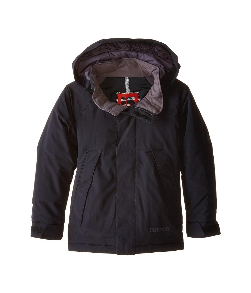 Burton Kids - Amped Jacket (Little Kids/Big Kids) (True Black 2) Boy's Jacket