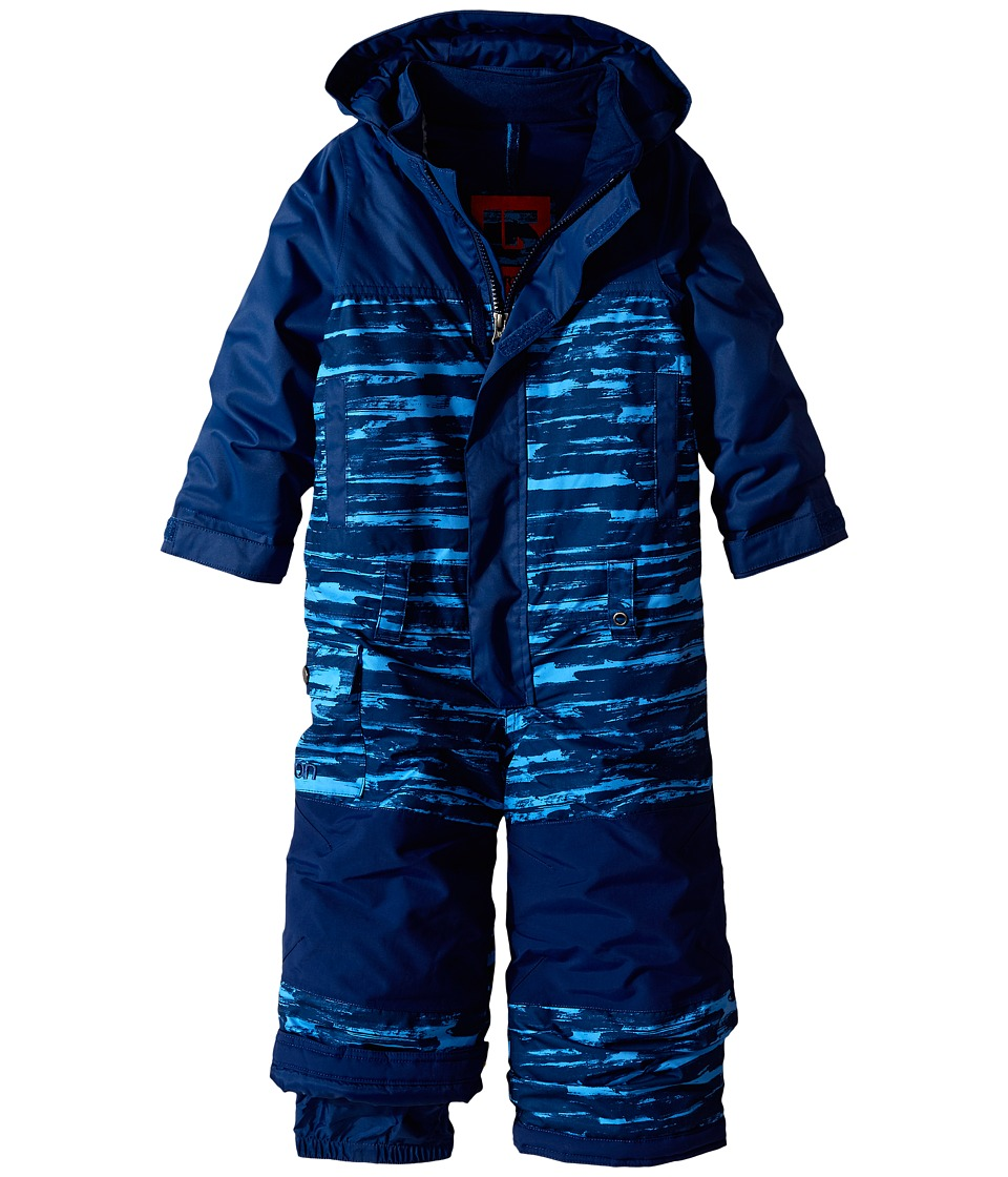Burton Kids - Minishred Striker One Piece (Toddler/Little Kids) (Boro Sloppy Stripe/Boro) Boy's Jumpsuit & Rompers One Piece