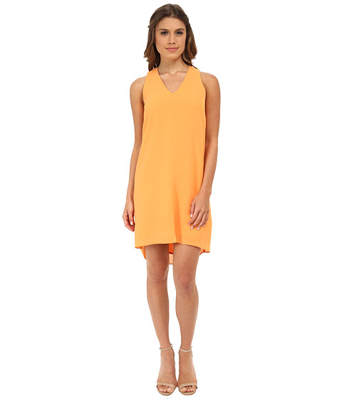 DKNYC - Sleeveless Texture Dress (Melon) Women's Dress