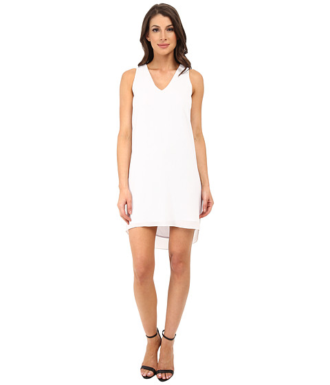DKNYC - Sleeveless Texture Dress (White) Women's Dress