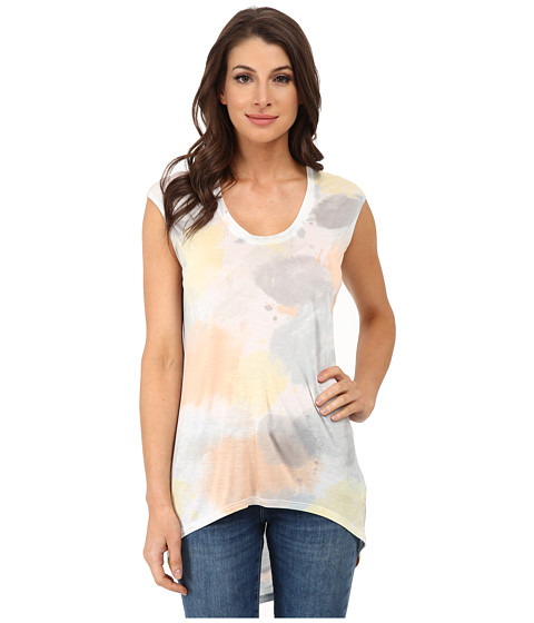DKNYC - Draped Back Tee (Spring Rain) Women's T Shirt