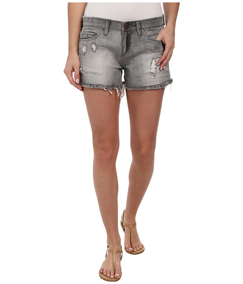 Blank NYC - Grey Cut Off Shorts in Buyers Remorse (Buyers Remorse) Women