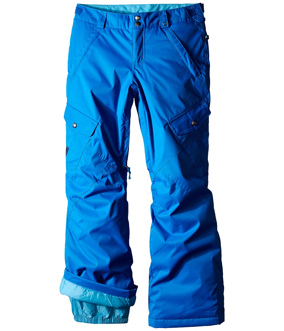 Burton Kids - Elite Cargo Pants (Little Kids/Big Kids) (Heron Blue) Girl's Casual Pants