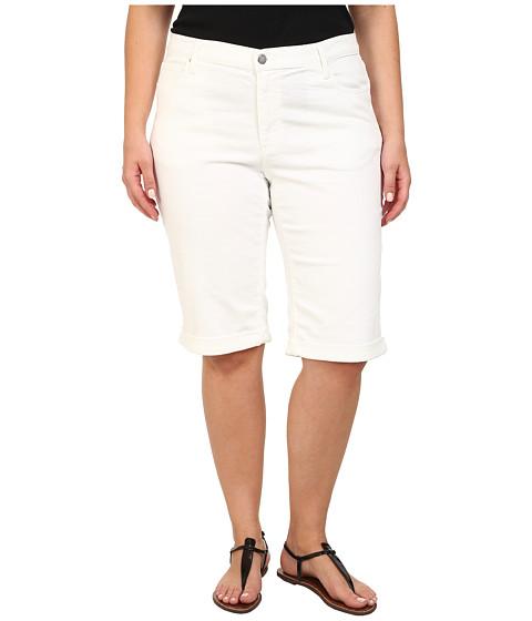 DKNY Jeans - Plus Size Ludlow Shorts in White (White) Women