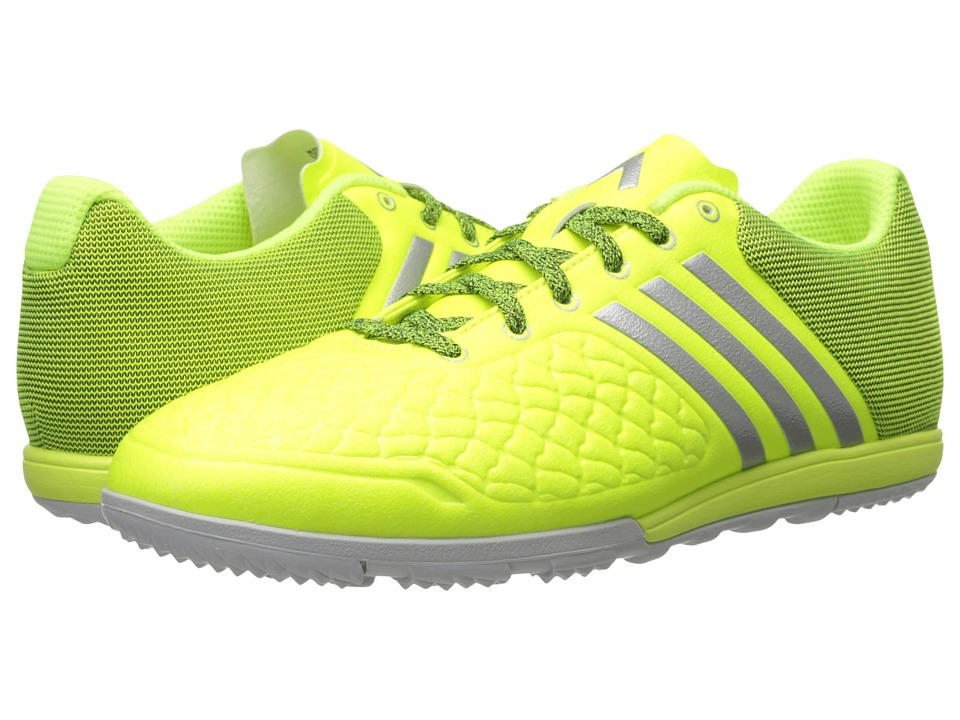 adidas - VS Control Low Cage (Solar Yellow/Silver Metallic/Clear Grey) Men's Soccer Shoes