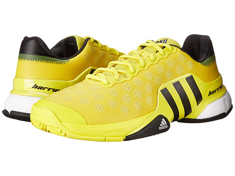 adidas - Barricade 2015 (Bright Yellow/Black/White) Men's Tennis Shoes