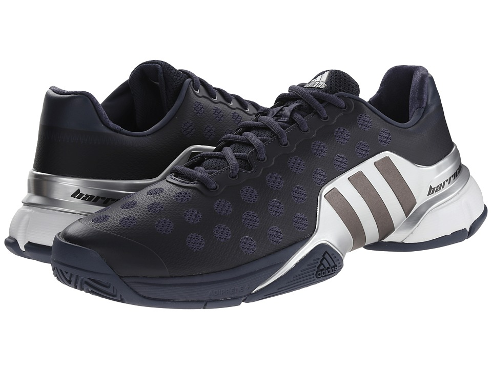 adidas - Barricade 2015 (Midnight Grey/Night Metallic/Silver Metallic) Men