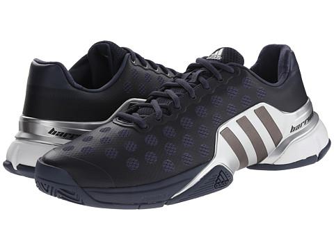 adidas - Barricade 2015 (Midnight Grey/Night Metallic/Silver Metallic) Men's Tennis Shoes
