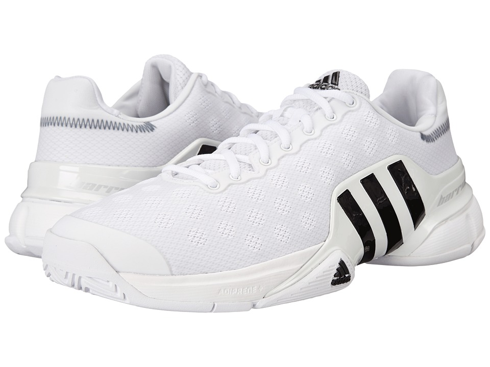 adidas Barricade 2015 (White/Black) Men