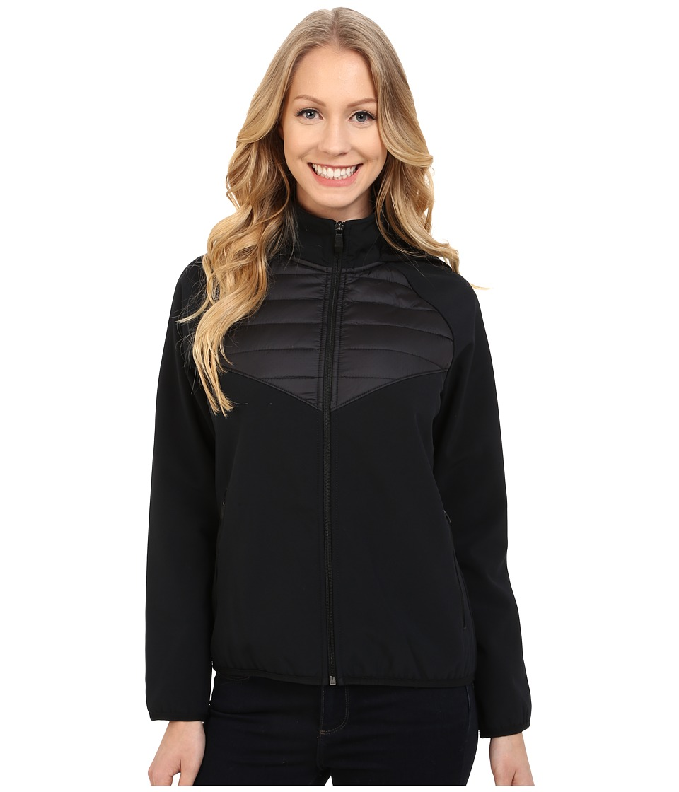 Merrell - Farrow Hybrid Softshell (Black) Women's Coat