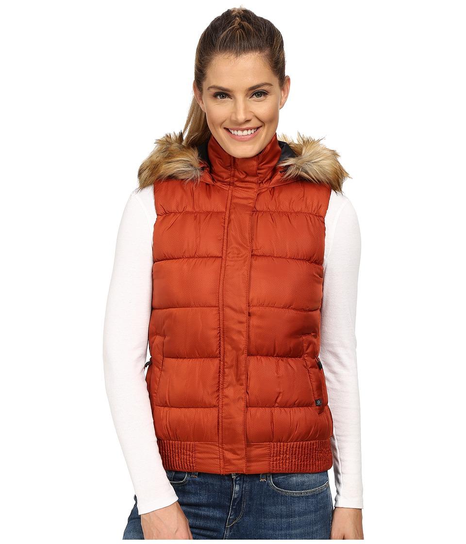 Merrell - Silversun Featherless Puffer Vest (Dark Rust) Women's Vest