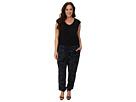 DKNY Jeans Plus Size Camo Print Jumpsuit
