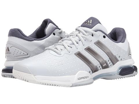 adidas - Barricade Team 4 (Clear Grey/Tech Silver Metallic/Midnight Grey) Men
