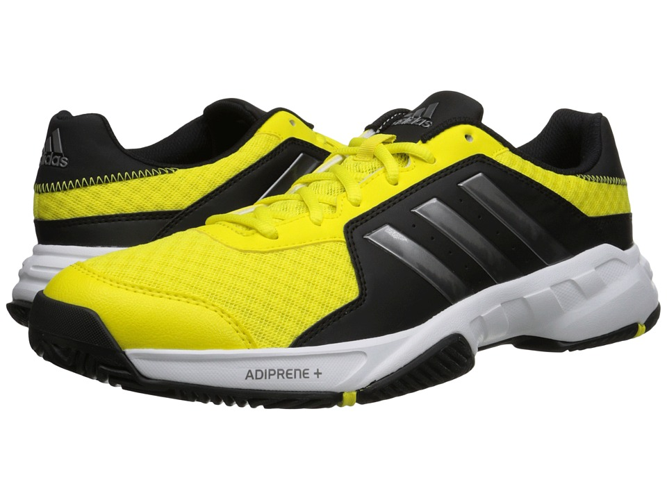 adidas - Barricade Court (Bright Yellow/Night Metallic/Black) Men