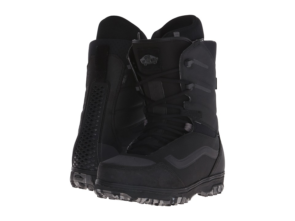 Vans - Sequal '16 (Black/Marble) Men's Cold Weather Boots