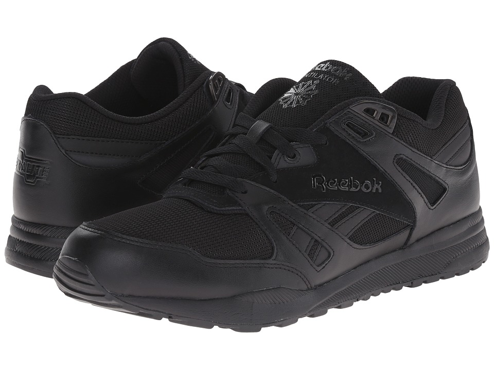 Reebok - Ventilator ST (Black/Black) Men's Shoes