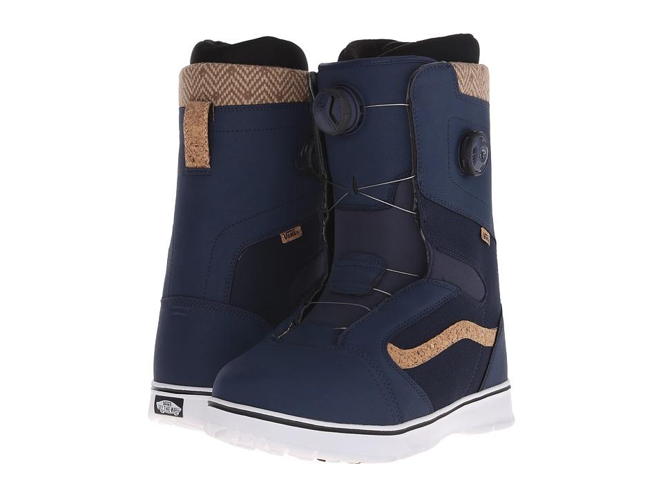 Vans - Aura '16 (Blue/Cork) Men's Cold Weather Boots
