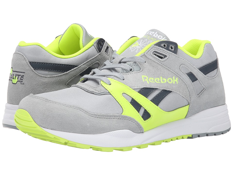 Reebok Lifestyle - Ventilator Pop (Baseball Grey/Solar Yellow/Graphite/White) Men's Classic Shoes