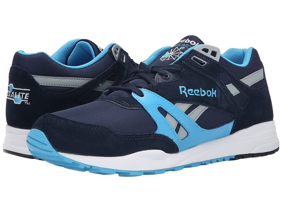 Reebok - Ventilator Pop (Faux Indigo/California Blue/Baseball Grey/White) Men's Classic Shoes