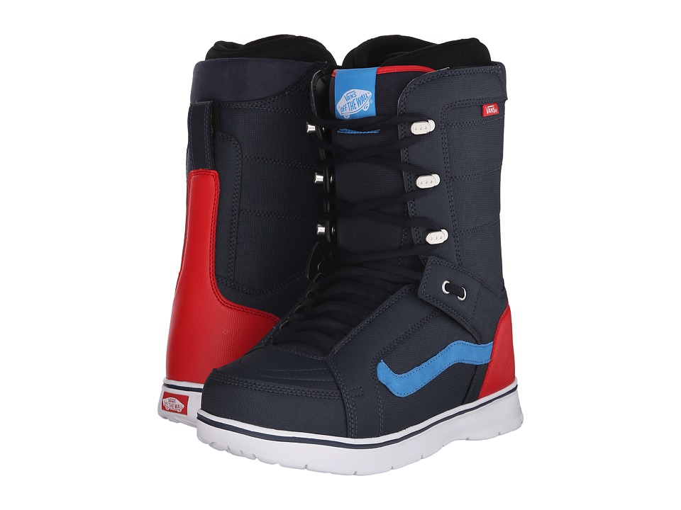 Vans - Hi-Standard '16 (Blue/Red) Men's Cold Weather Boots