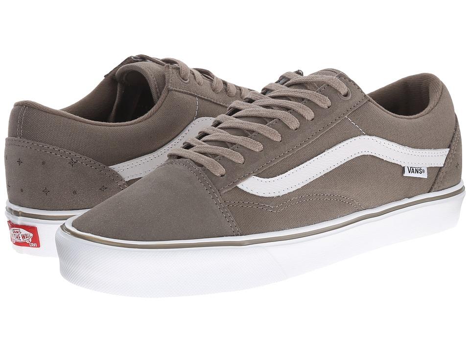 Vans - Old Skool Lite ((Bario) Brindle/White) Men's Skate Shoes