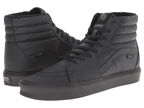 Vans - Sk8-Hi Lite ((Waxed) Black) Men