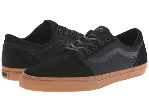 Vans - Trig ((Herringbone) Black/Gum) Men
