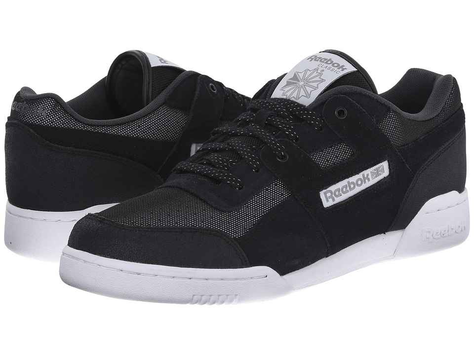 Reebok Lifestyle - Workout Plus Reflect (Black/Steel/White) Men's Shoes