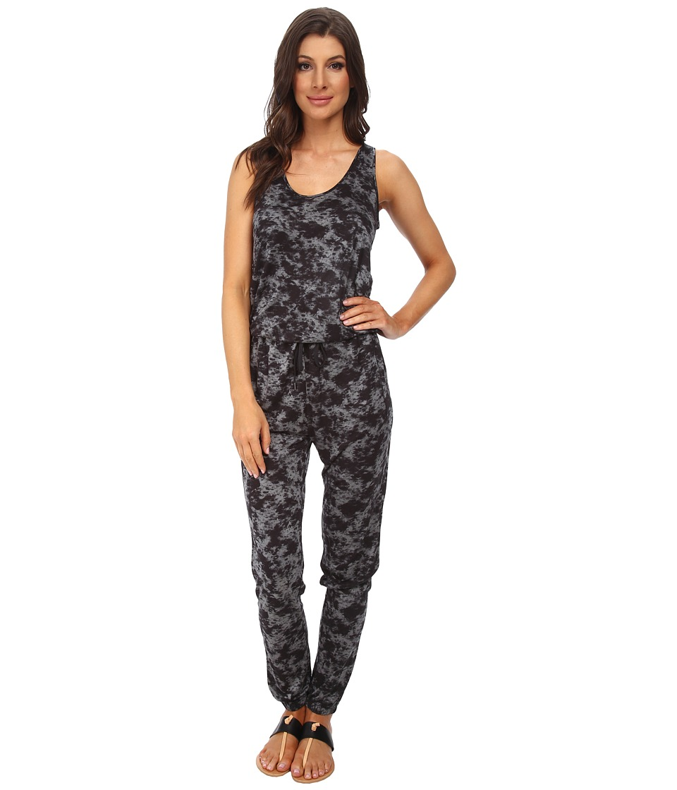 DKNYC - Ankle Cinched Jumpsuit (Black) Women's Jumpsuit & Rompers One Piece
