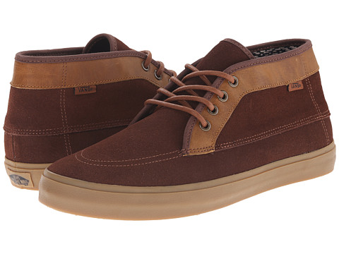 Vans - Fairhaven SF ((S&L) Potting Soil/Gum) Men's Shoes