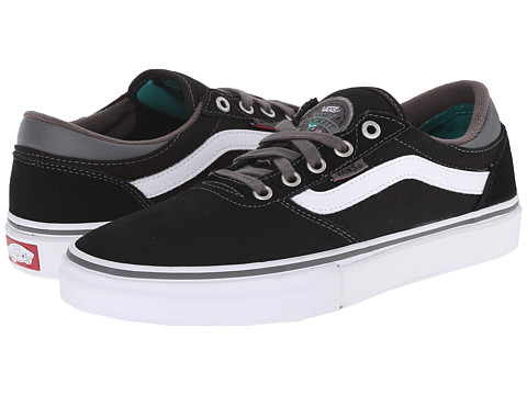 Vans - Gilbert Crockett Pro (Black/Pewter) Men's Skate Shoes