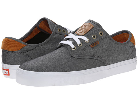 Vans - Chima Pro ((Cord Chambray) Navy) Men's Skate Shoes