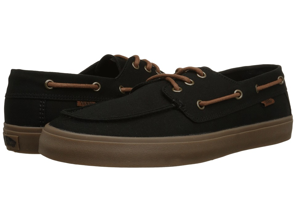 Vans - Chauffeur SF (Black/Gum) Men's Shoes