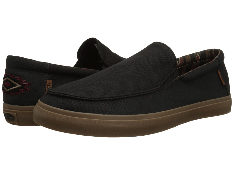 Vans - Bali SF ((Nathan Fletcher) Black/Brown) Men's Shoes