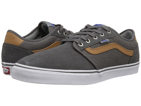 Vans - Lindero 2 ((Herringbone Twill) Grey/White) Men
