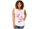 Plus Size Summer Floral Tee